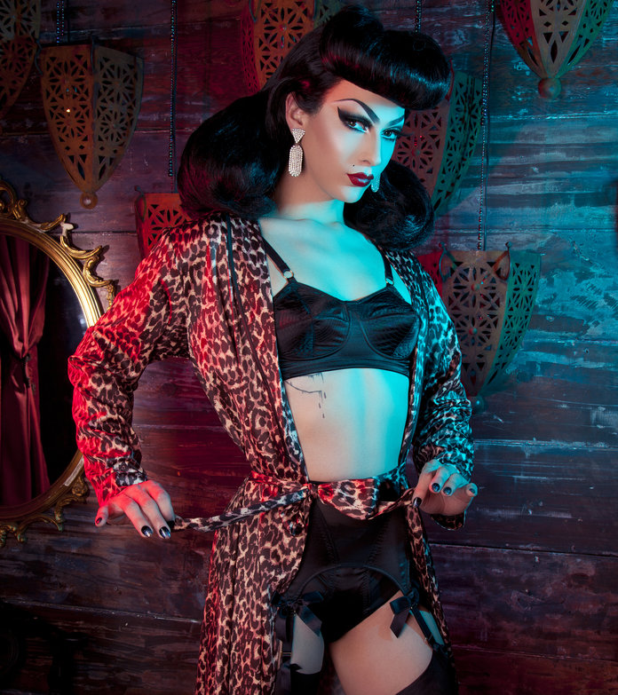 <em>RuPaul's Drag Race</em> Winner Violet Chachki Models for the New Playful Promises Lingerie Campaign