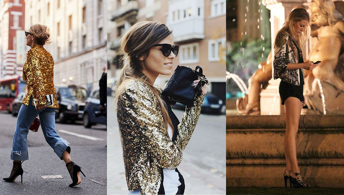 Sequin Blazers: Your Party Season Obsession