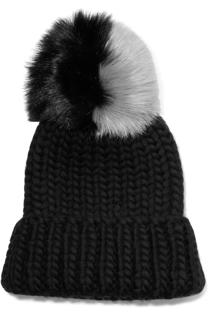 Eugenia Kim's Fun Pom-Pom Hat