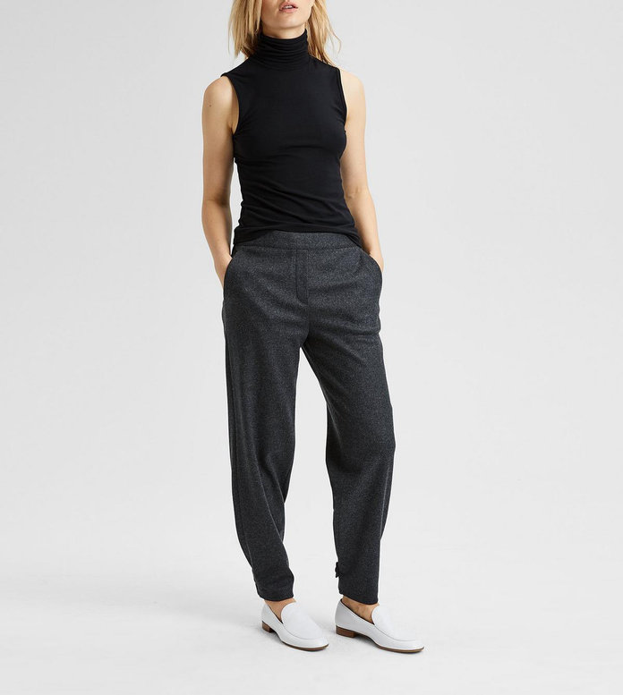 Theory Wool Flannel Genie Pant
