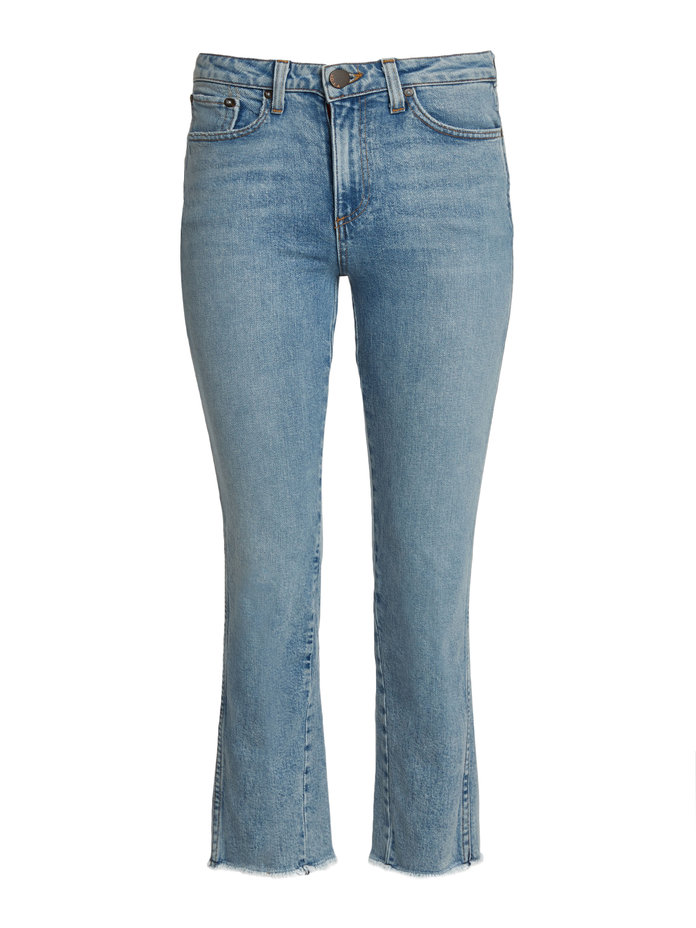 AO.LA Fabulous High-Rise Baby Boot Ankle Jeans