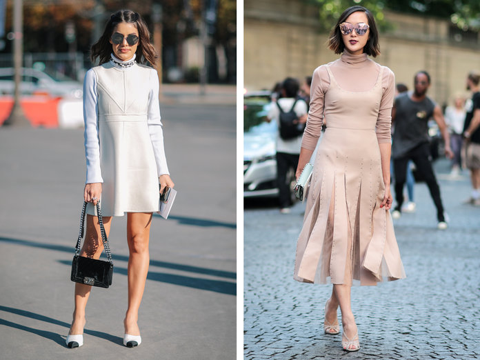 Why You'll Want to Layer a Turtleneck Under All Your Dresses