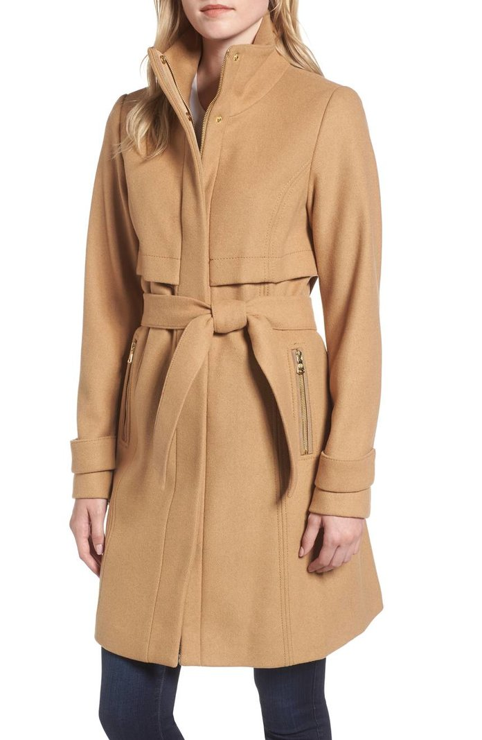 Flattering Coats For Your Shape Instyle Com