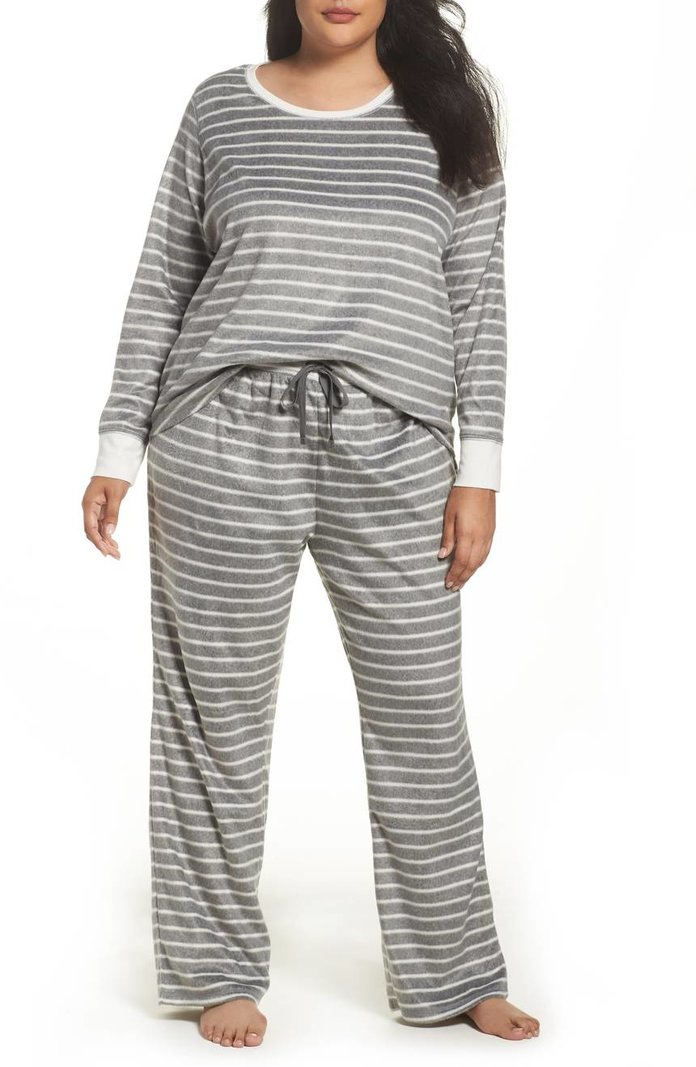 <p>Fleece Pajamas by PJ Salvage</p>