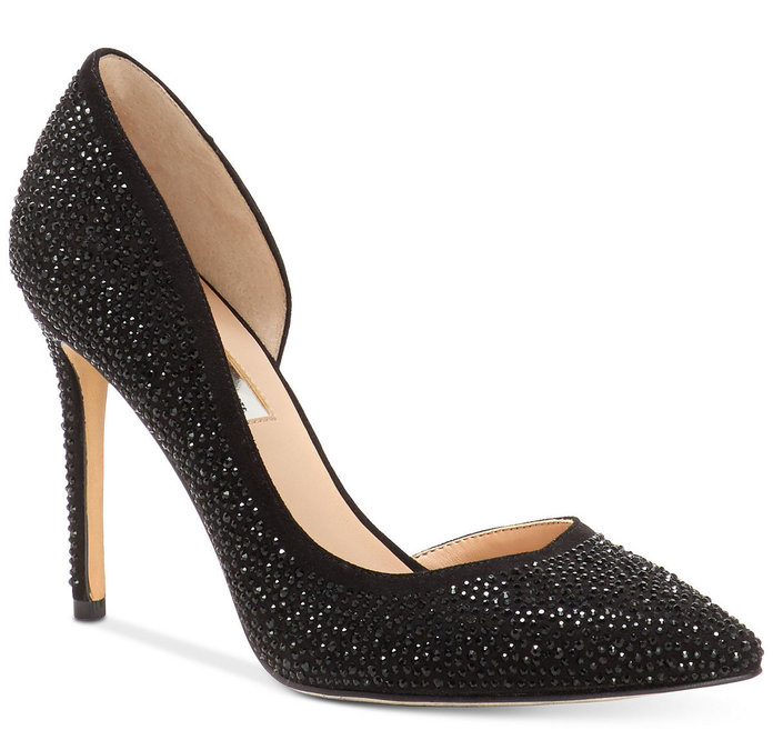 Bedazzled Pumps by Anna Sui x INC International Concepts