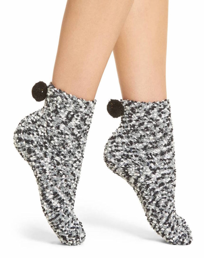 The Accessory Collective Pom-Pom Socks