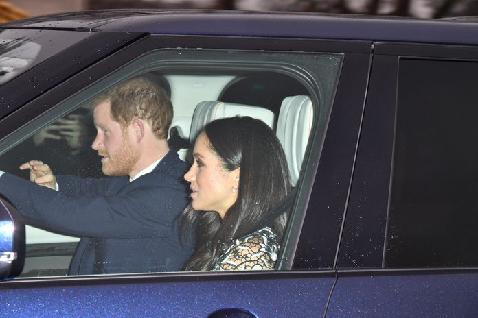 Meghan Markle And Prince Harry Head To The Queen S