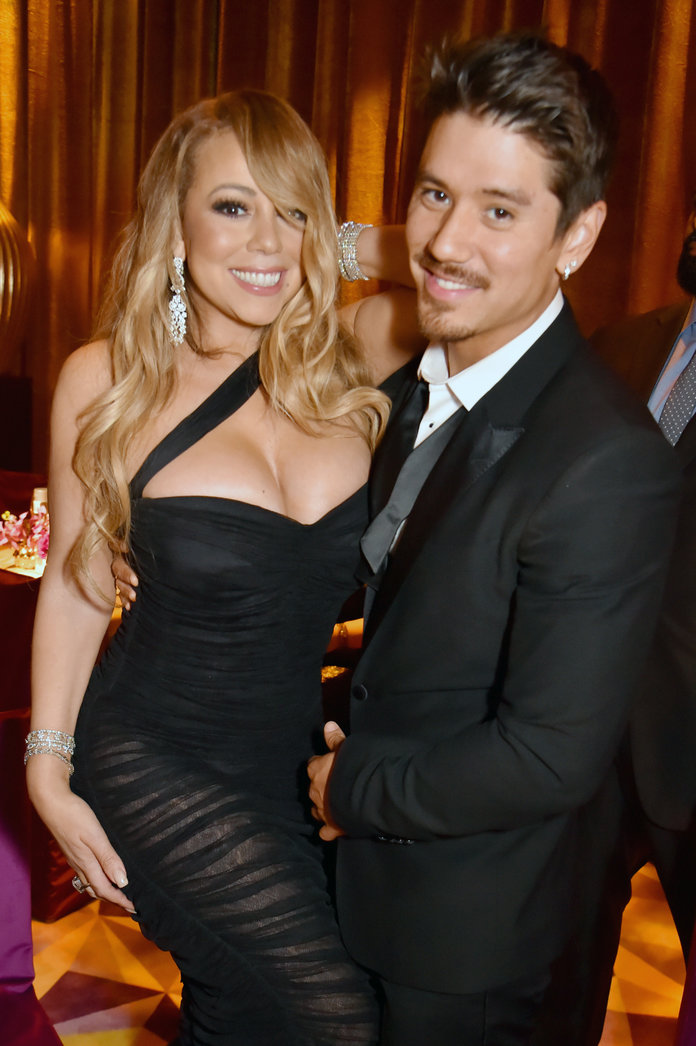 Mariah Carey and Brian Tanaka