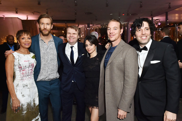 Calvin Harris, Camila Cabello, and Diplo
