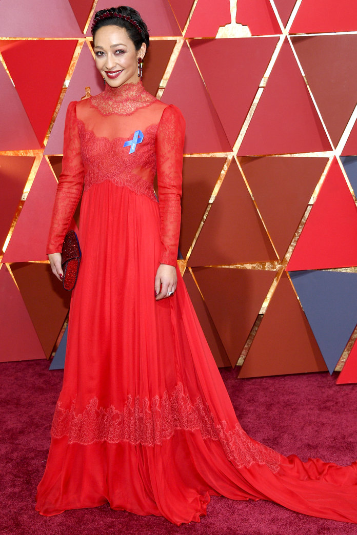Ruth Negga in Valentino, 2017