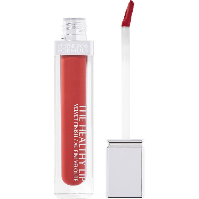 Physicians Formula Healthy Lip Velvet Liquid Lipstick in Free Red-Icals