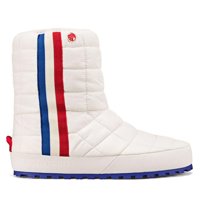 <p>QUILTED PUFFER BOOTS</p>