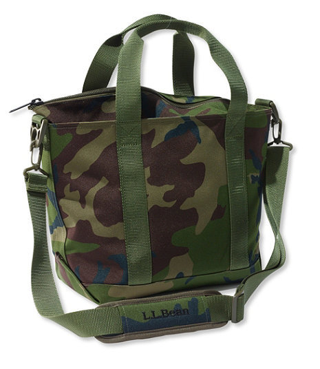 Zip Hunter's Tote Bag With Strap