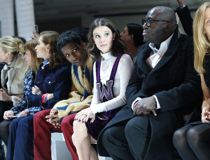 The <em>Stranger Things</em> Kids At NYFW Re-Confirm We Are Not Cool (At All)