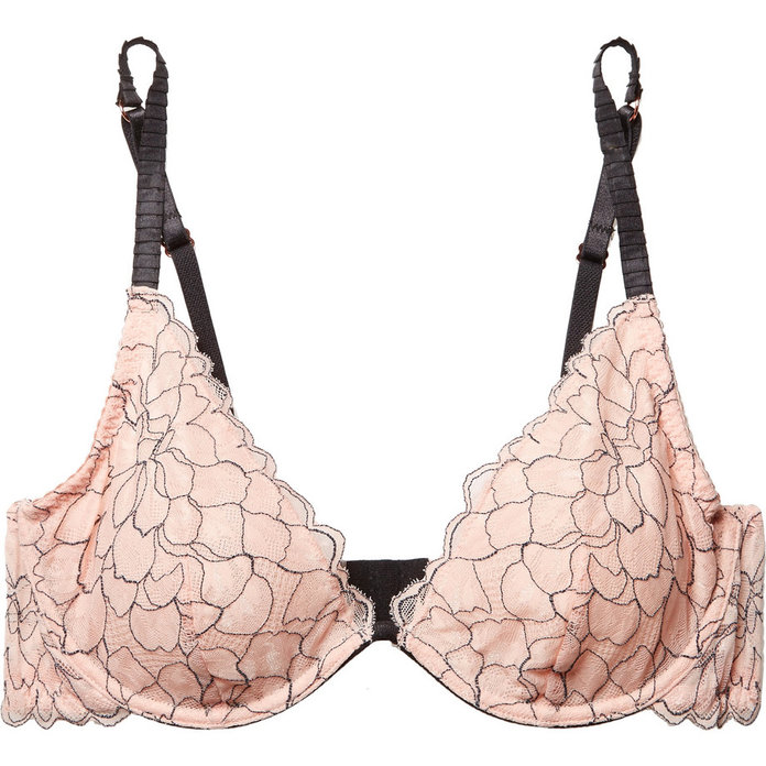 <p>Rosario The Plunge Stretch-Corded Lace Underwired Bra</p>