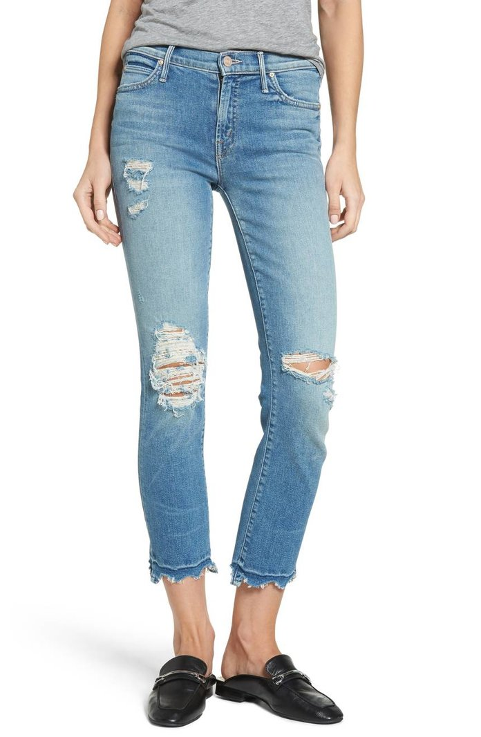 The Rascal High Waist Ankle Jeans