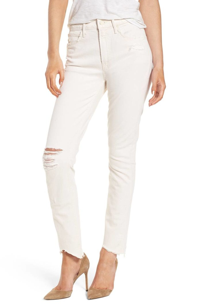 The Flirt Chew Ankle Straight Leg Jeans