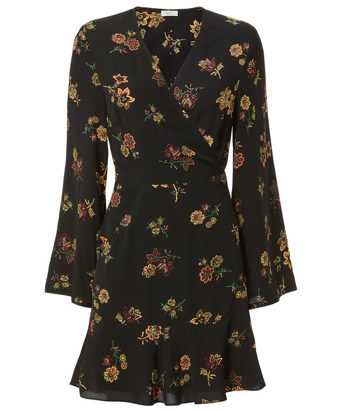 <p>Belted Wrap Dress </p>