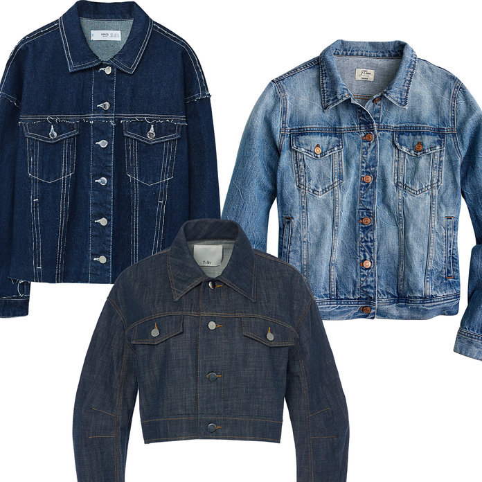 Updated Denim Jackets
