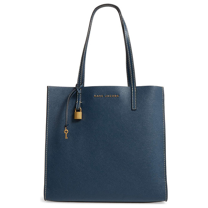 <p>LEATHER TOTE BAG</p>