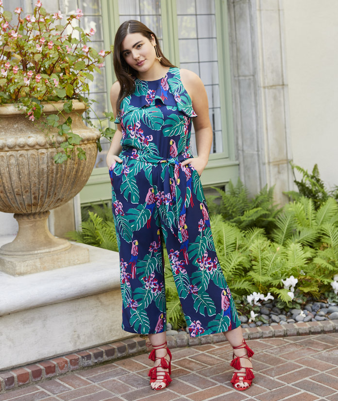 Your Transitional Jumpsuit Can Have a Fun Print