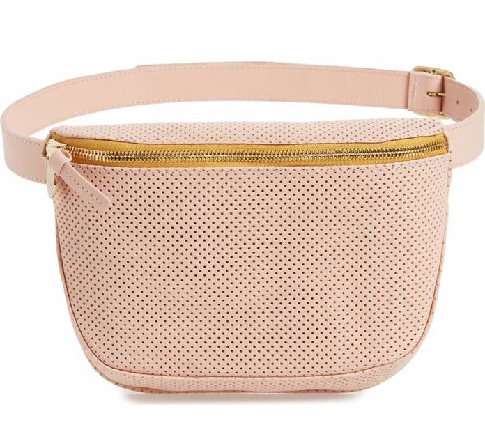 blush fanny pack