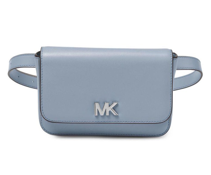 powder blue fanny pack