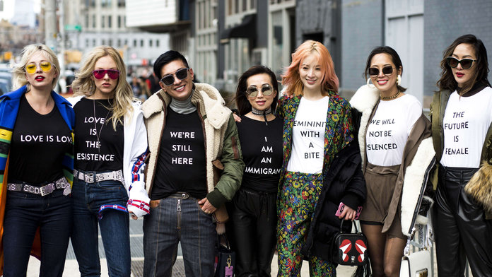 The Best Slogan Tees To Wear On International Women's Day