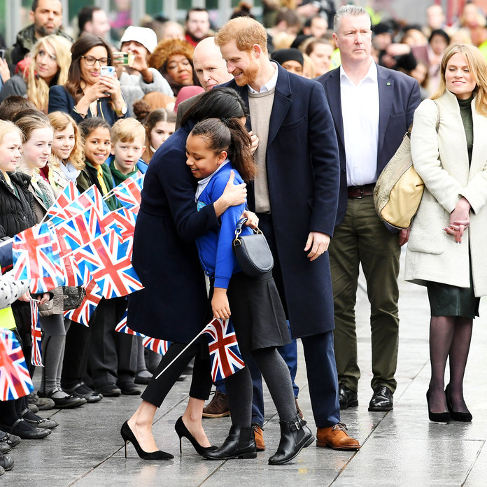 Meghan Markle And Prince Harry Share A Romantic Public