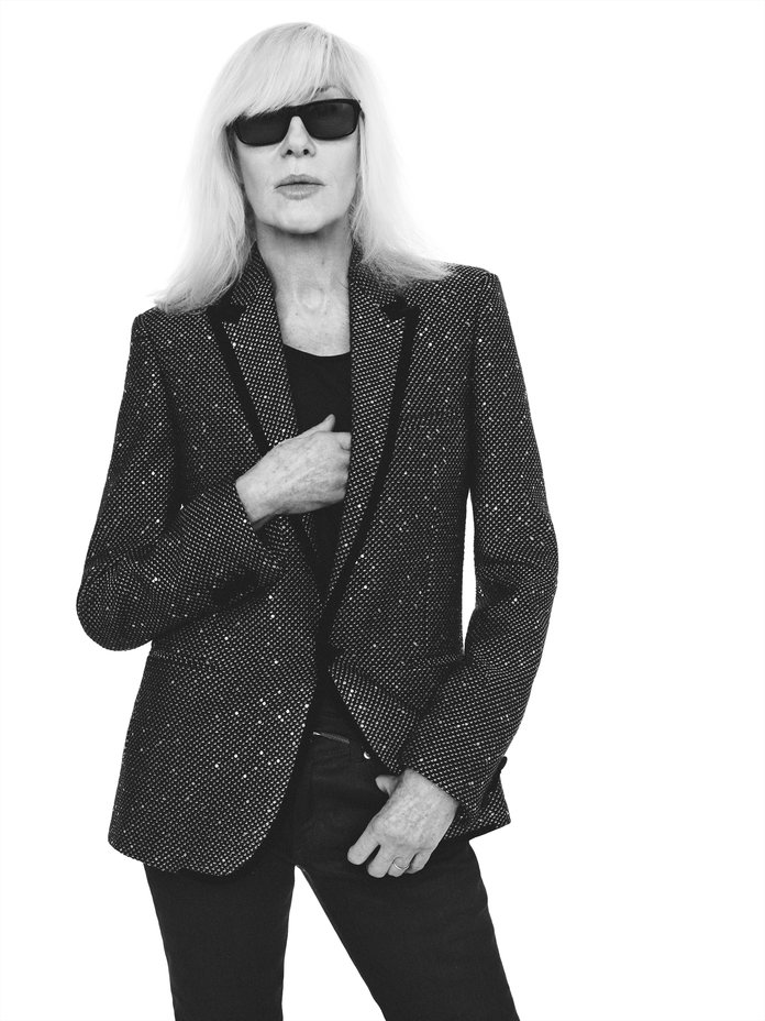 Saint Sass: Laurent's New Face Is 72 Year-Old Betty Catroux