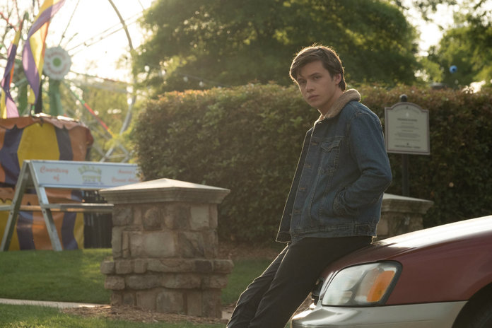 <p>Nick Robinson as Simon</p>