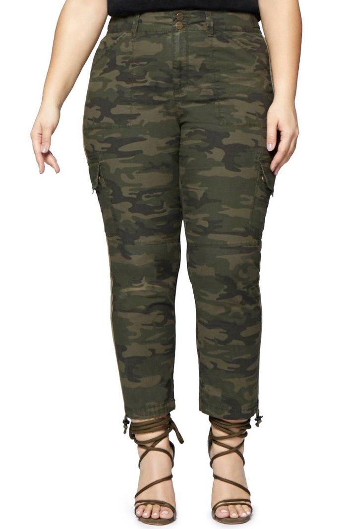 Sanctuary's Slim Camo Cargos
