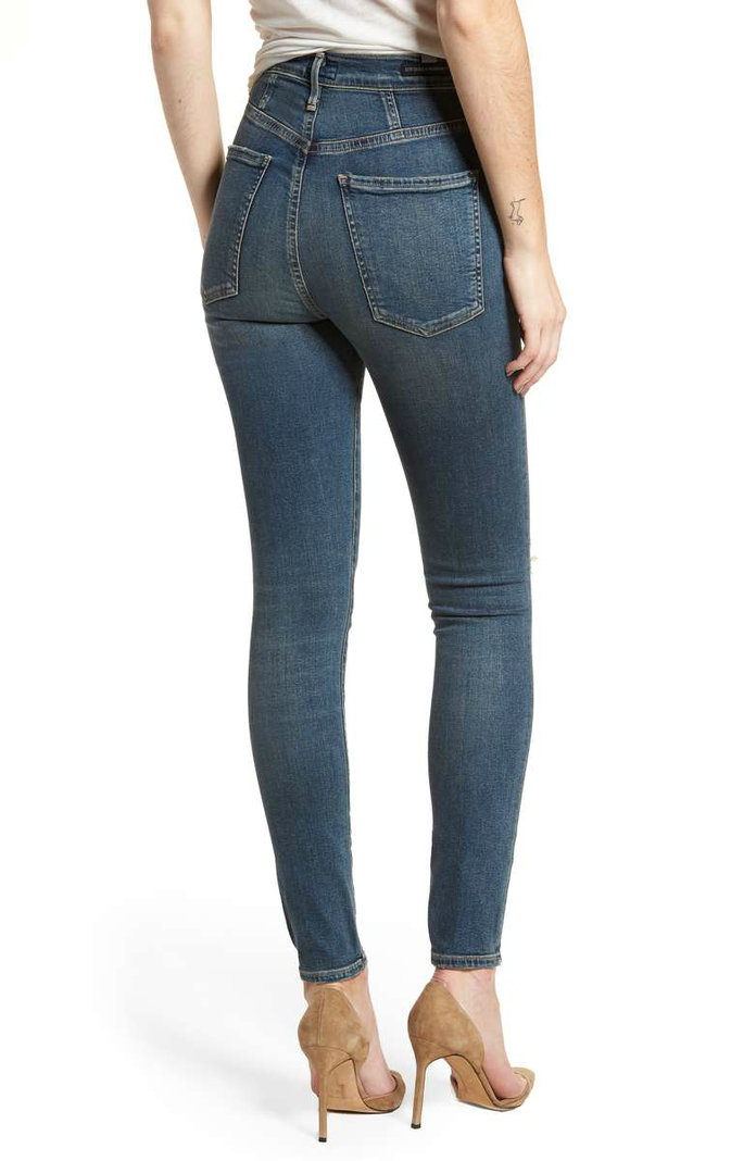 CITIZENS OF HUMANITY HIGH WAIST SKINNY