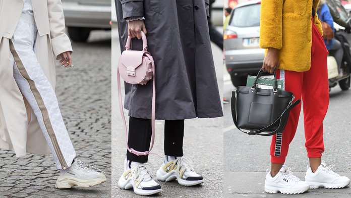 Ugly Chunky Sneakers Trend