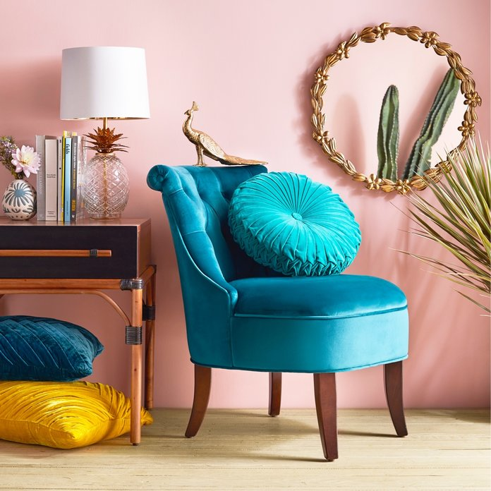 <p>Test out color with a bright chair</p>