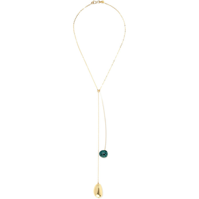 Gold and resin Necklace