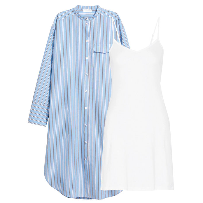 The Problem: A Semi-Sheer Shirtdress