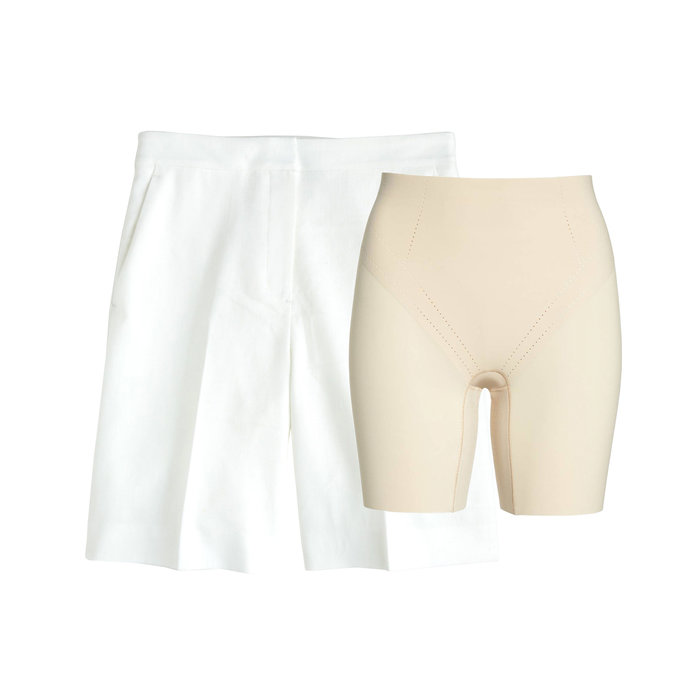 The Problem: White Linen Shorts