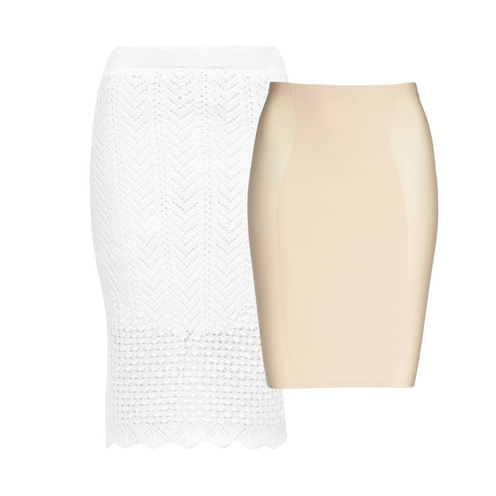 <p>The Problem: A Cut-Out Skirt with a Questionable Lining</p>