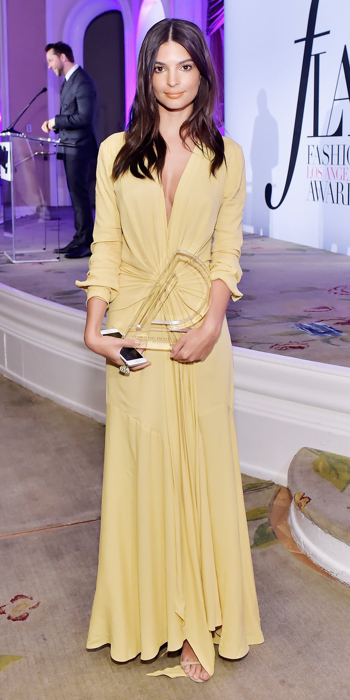 Emily Ratajkowski Daily Front Row Fashion Awards