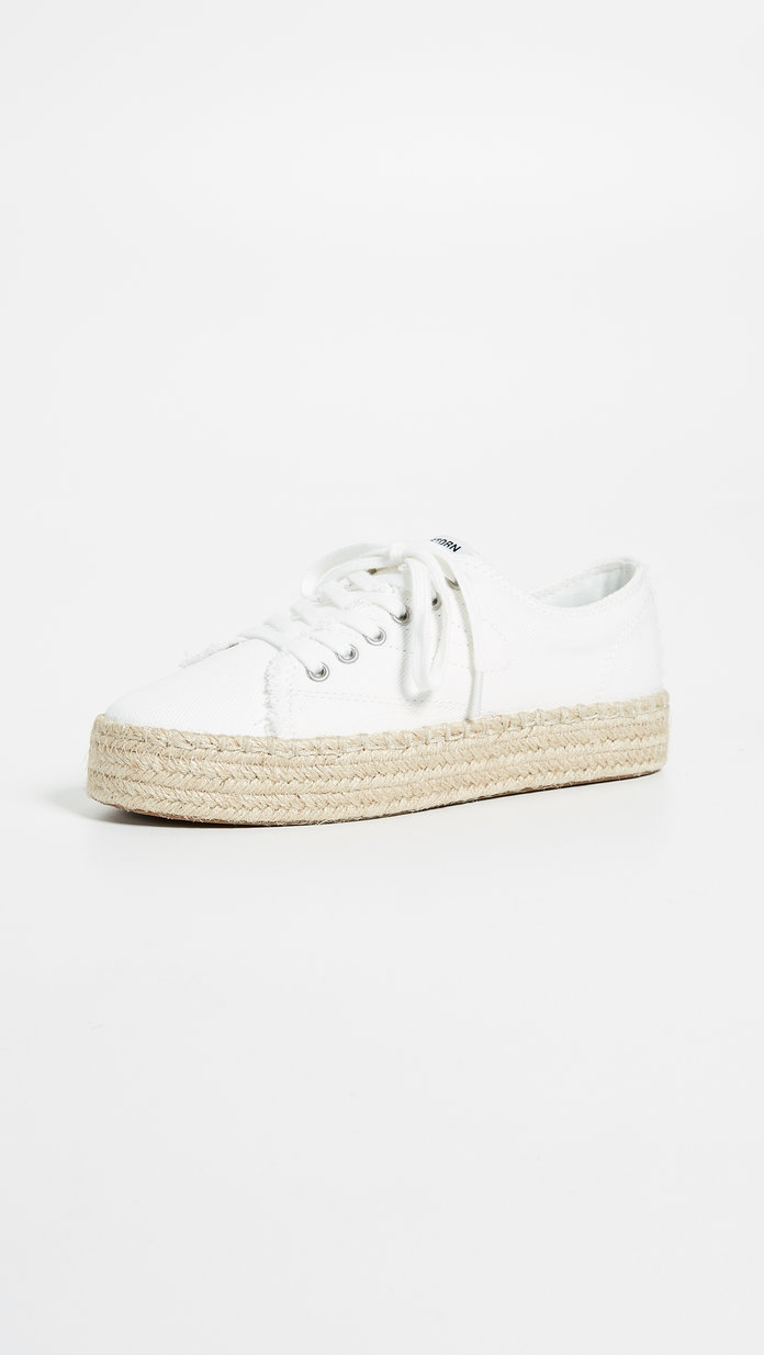 Eve Lace Up Espadrille Sneakers