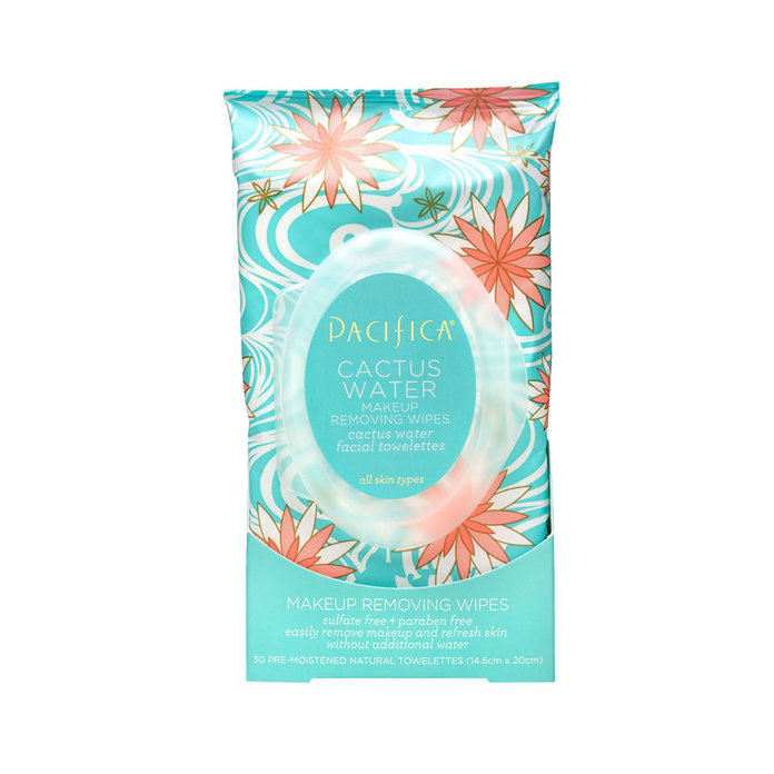Pacficia Cactus Water Makeup Removing Wipes