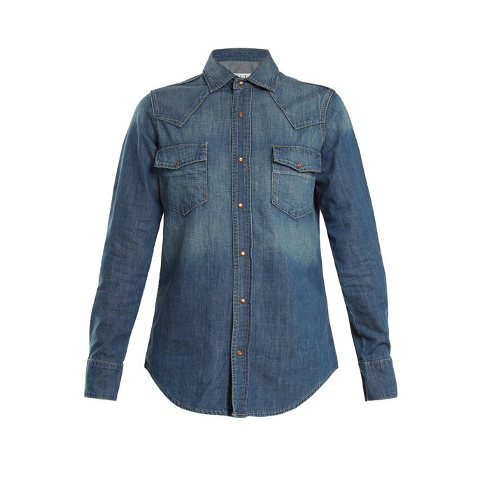 Eve Denim Faded Denim Shirt