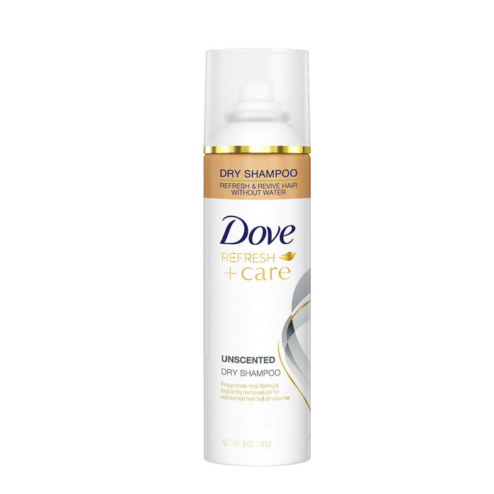 Dove Unscented Dry Shampoo
