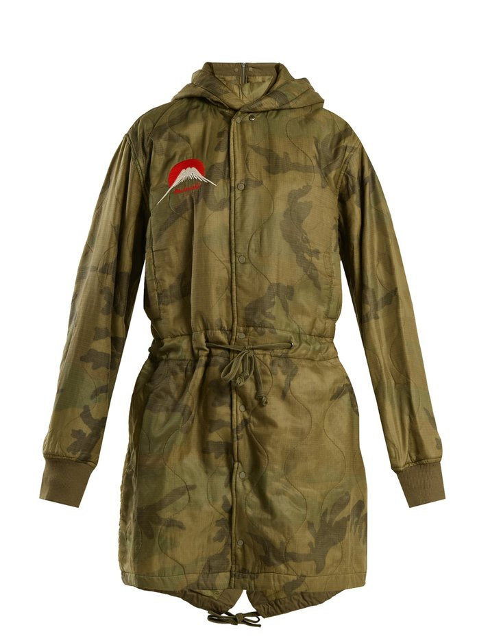 Qulited Parka by Maharishi