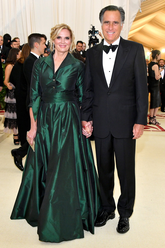 Met Gala 2018 - Anne and Mitt Romney