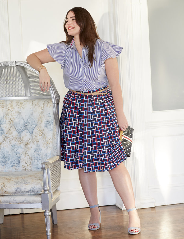 shirt and skirt