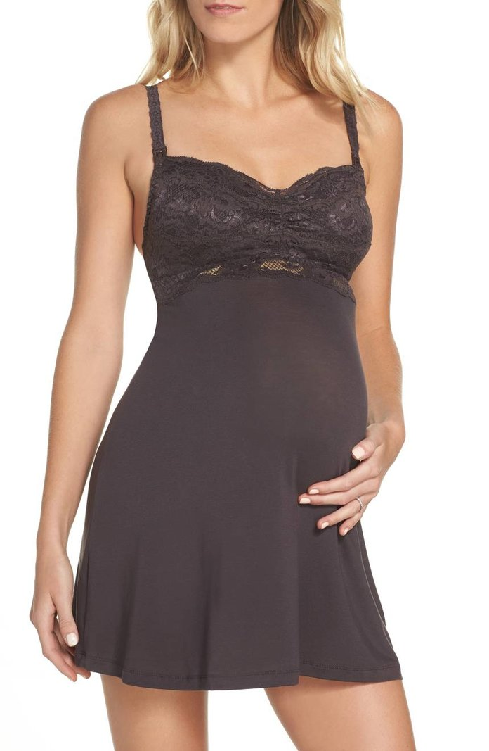 Never Say Never Mommie Maternity Babydoll Chemise