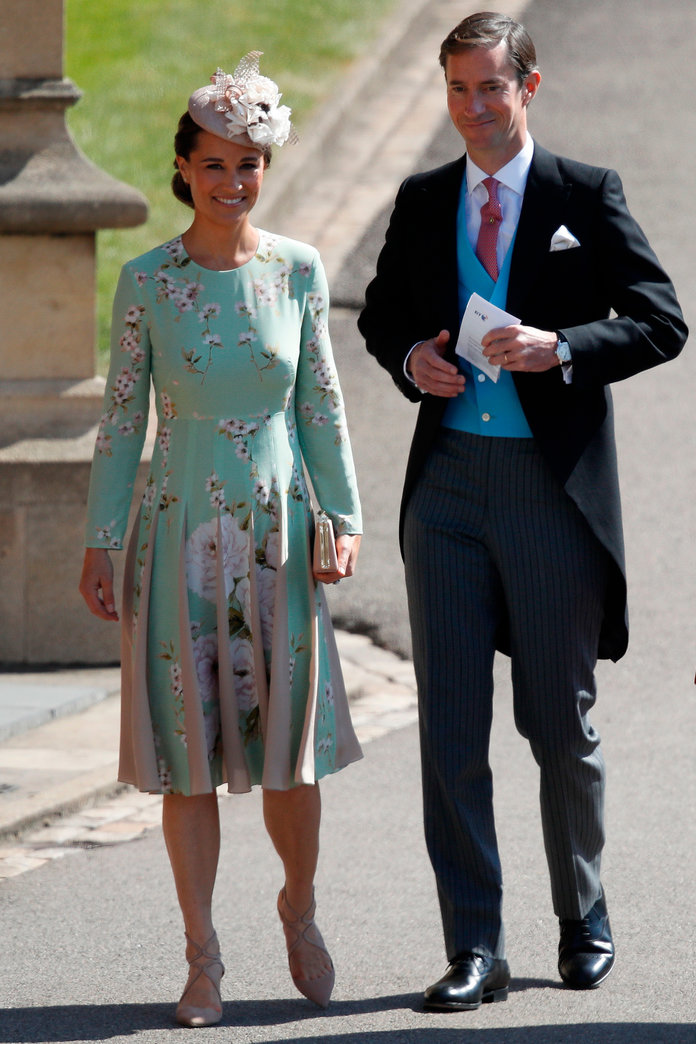 Pippa Middleton and James Matthews Arrive