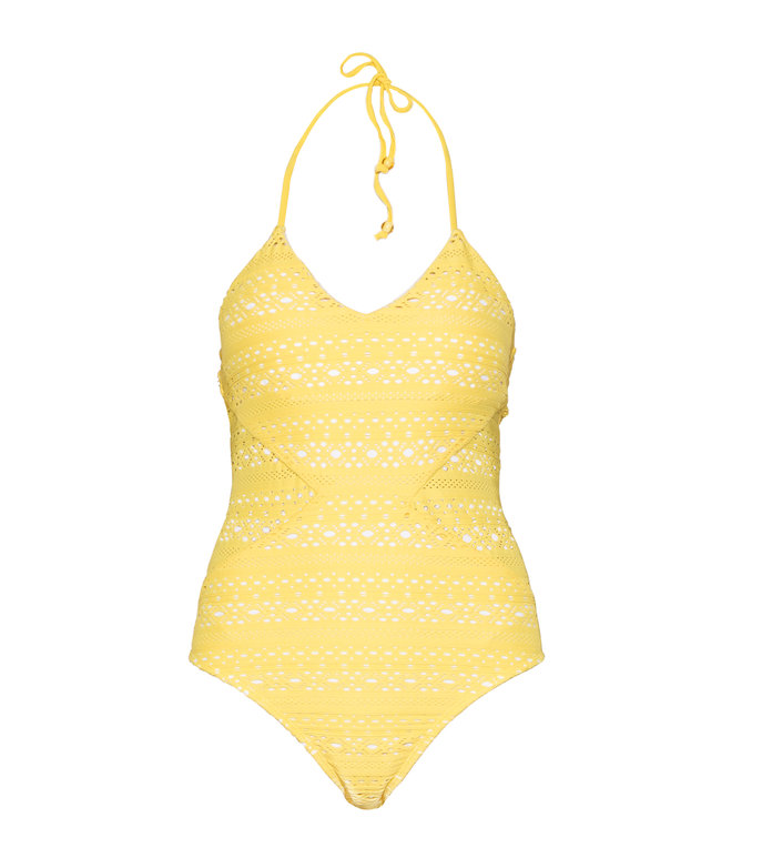 Palm Springs Eyelet One Piece